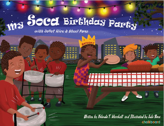 Book Unboxing: My Soca Birthday Party: with Jollof Rice and Steel Pans