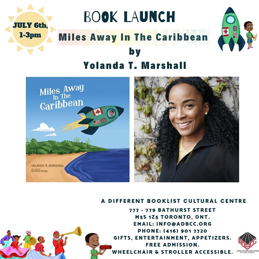 Miles Away In The Caribbean ~ Book launch