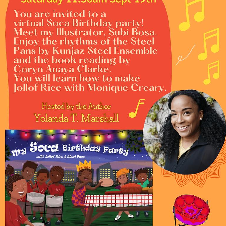 Virtual Book Launch: My Soca Birthday Party