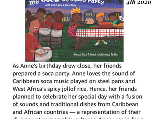 My Soca Birthday Party: with Jollof Rice and Steel Pans