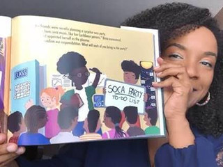 Storytime ~ A Soca Birthday Party reading