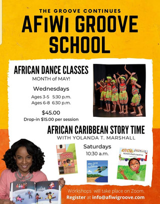 AFIWI Groove School Cultural Dance and Arts programme
