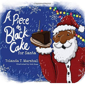 A Piece of Black Cake for Santa