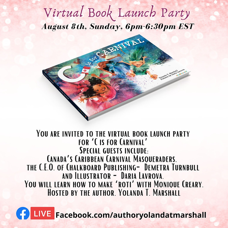Virtual Book Launch ~ C is for Carnival