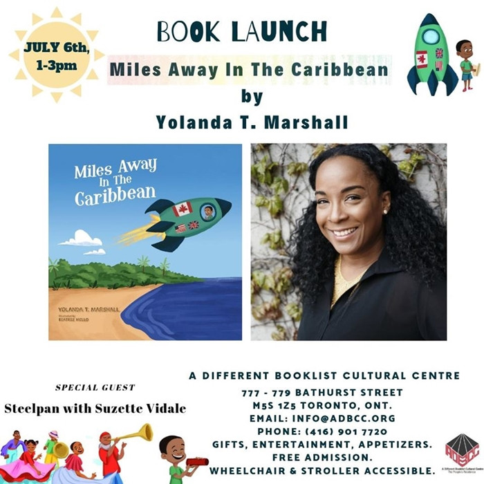 Book Launch:- Miles Away In The Caribbean