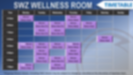 Kilsyth GYM Spartans Warrior Zone Wellness Room Timetable.png