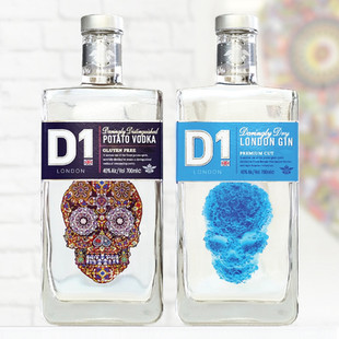 D1 Gin and D1 Vodka