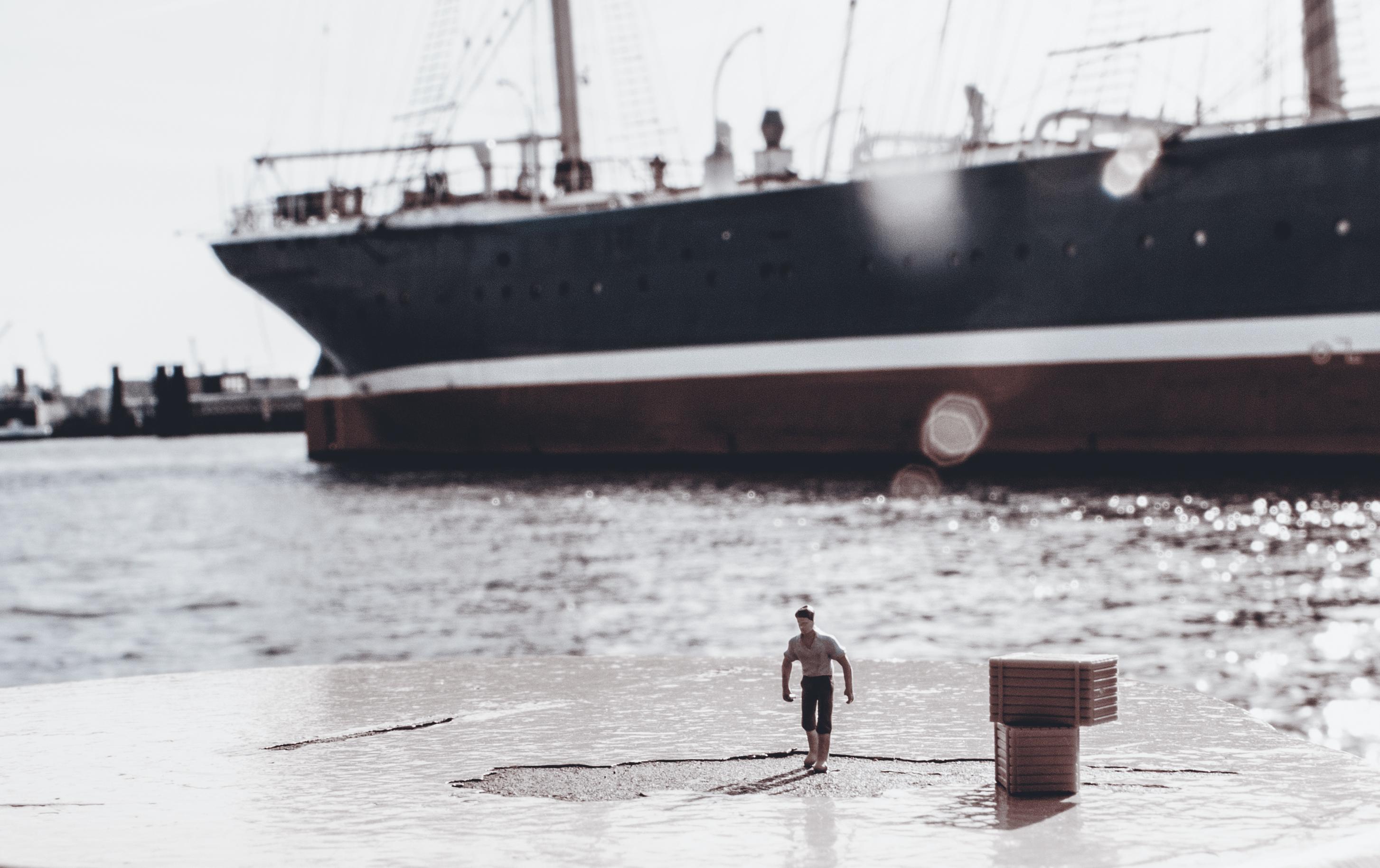 Hafenarbeiter sw