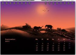 Tischkalender Minimalistisch 09