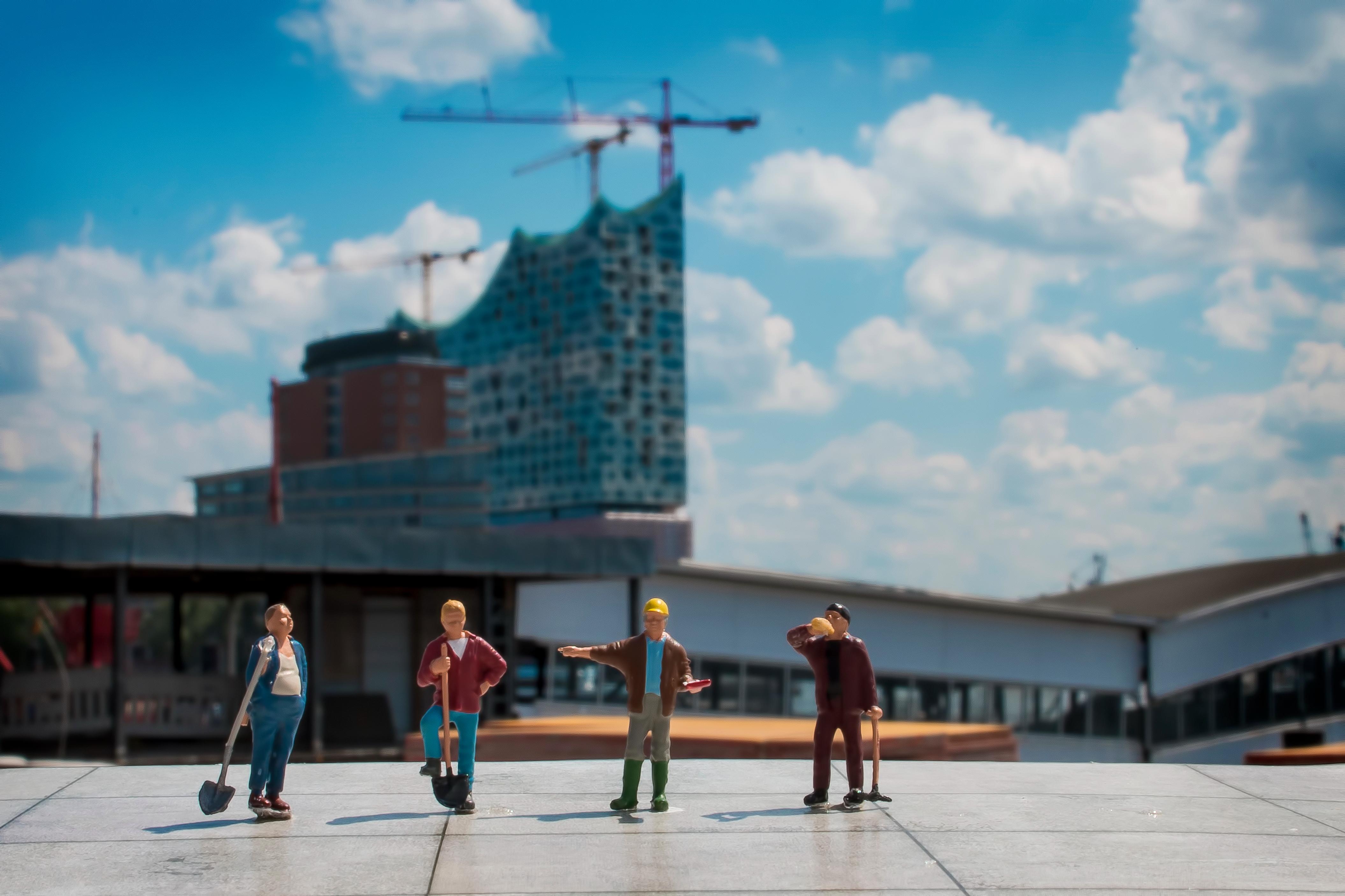 Der Bau der Elbphilharmonie