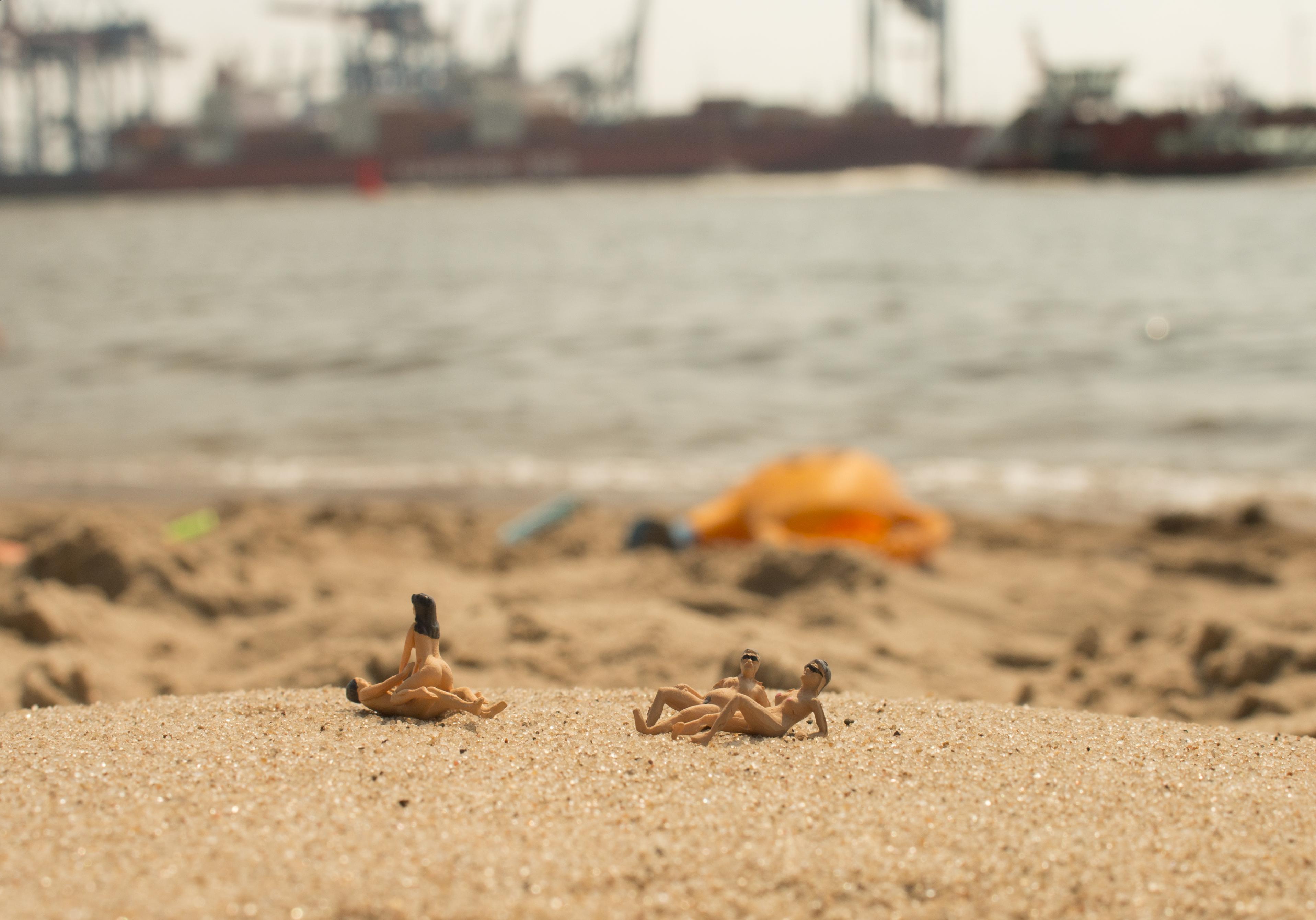 Liebe am Strand