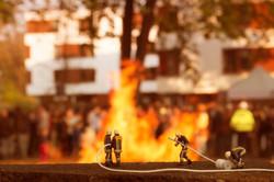 Feuerwehr Grossbrand