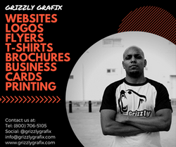 Copy of GRIZZLY Website, Logos, Flyers