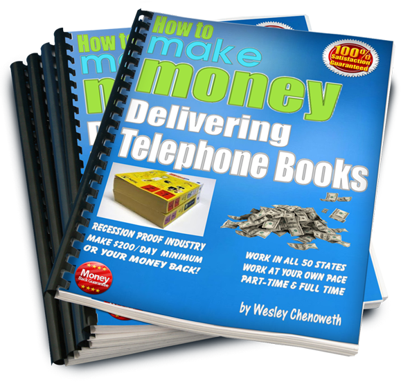3D Mockup - Telephone Book Delivery