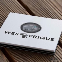WesAfrique Business Card Mockup