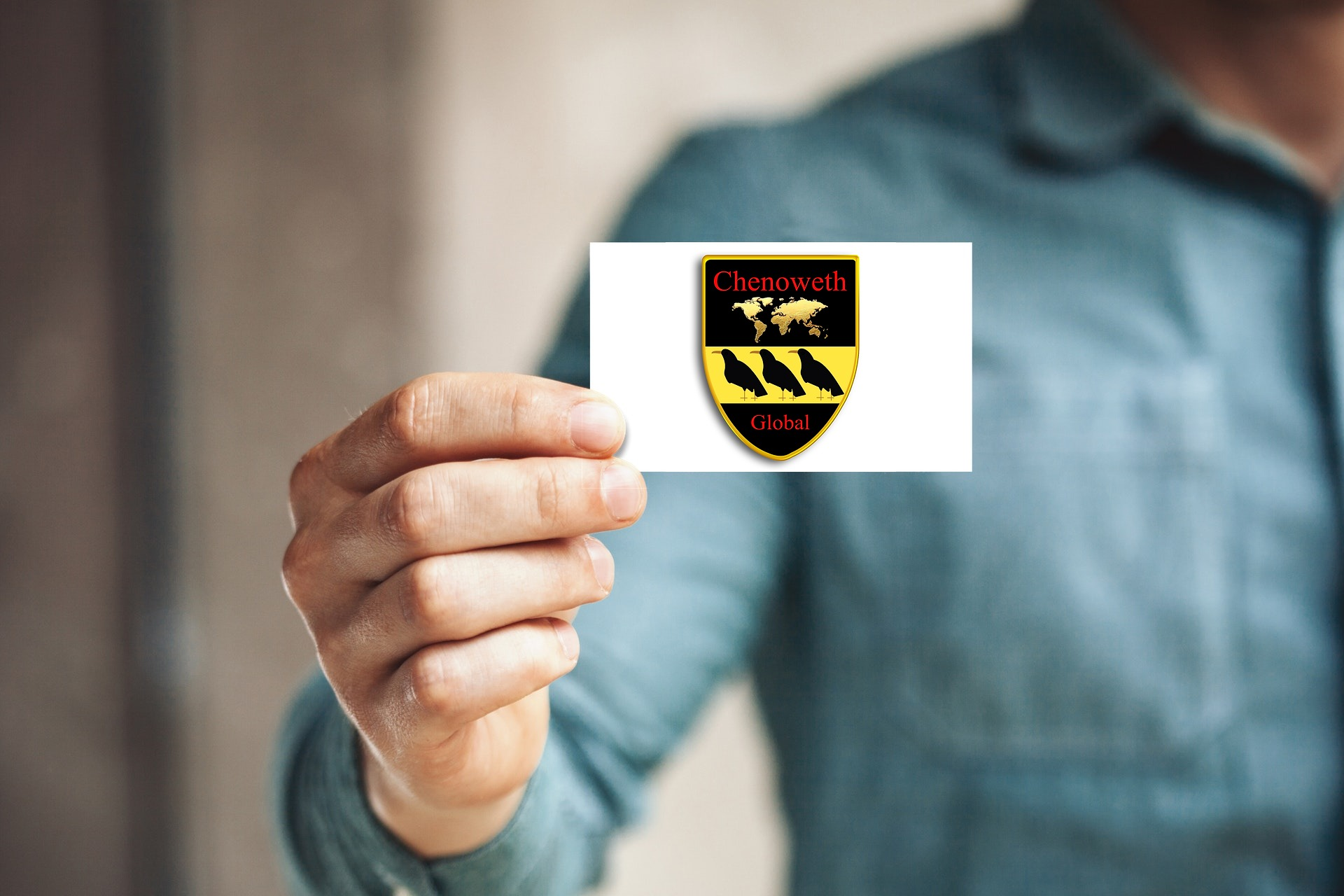 Chenoweth Global Business Card
