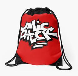 Mike Check - Red Bookbag