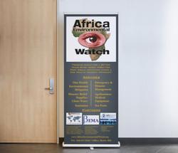Preview - AEW Retractible Banner