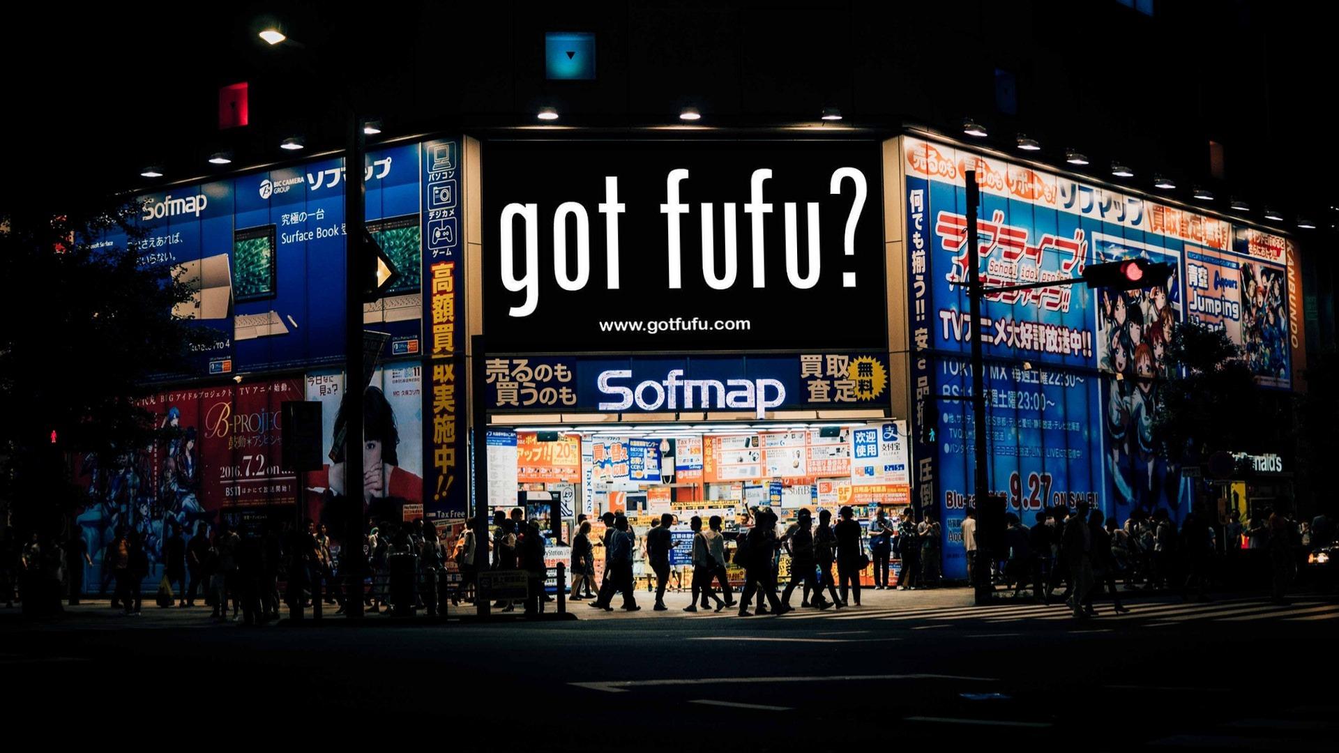GOT FUFU Clothing - Billboard Mockup