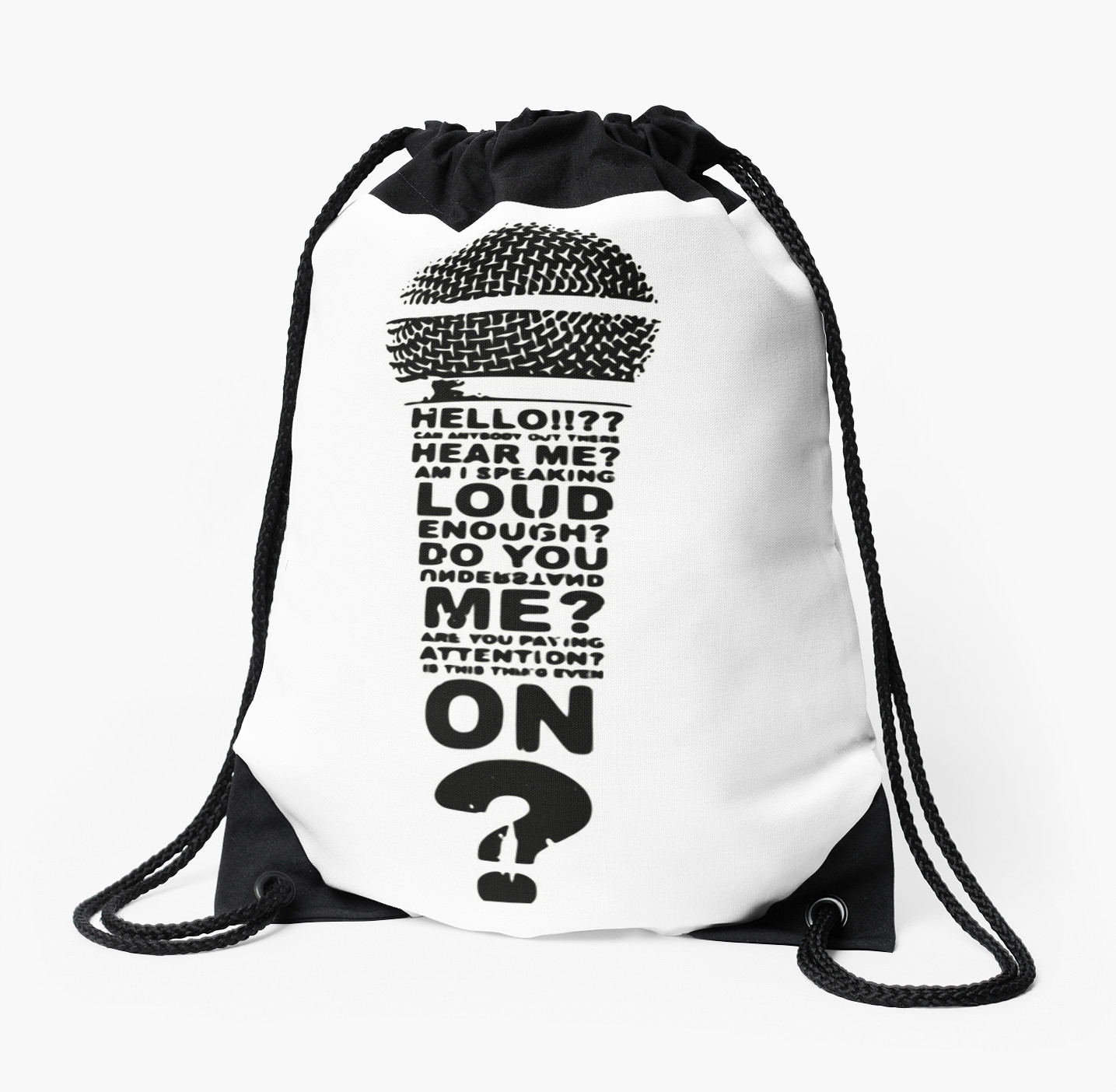 Is This Mic On? - Design