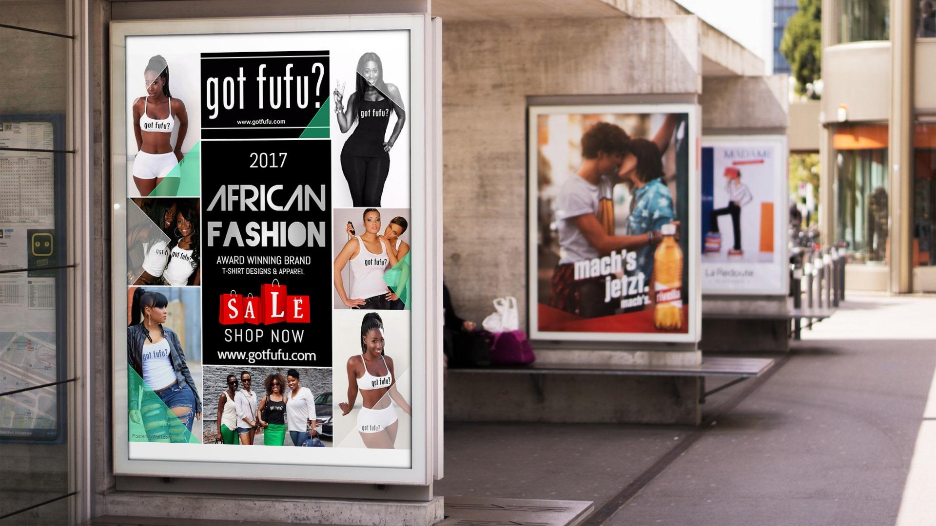 GOT FUFU - Mockup Sign