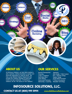 InfoSource Solutions Poster