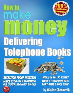 Flat Ebook Mockup - Telephone Books