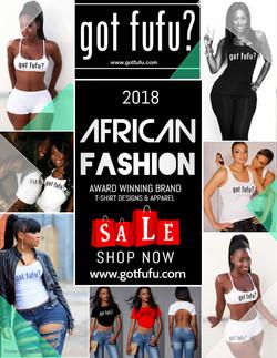 GOT FUFU Clothing Flyer Design