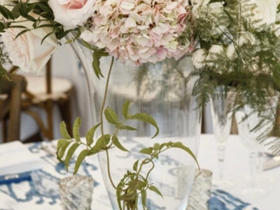 Bold Print with Soft Centerpiece