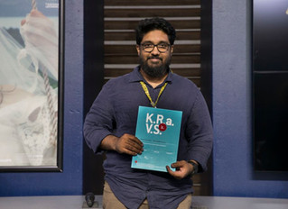 Pradeepan Raveendran received a residency award Internationale Kurzfilmtage Winterthur @ Villa Sträu