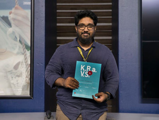 Pradeepan Raveendran received a residency award Internationale Kurzfilmtage Winterthur @ Villa Sträu
