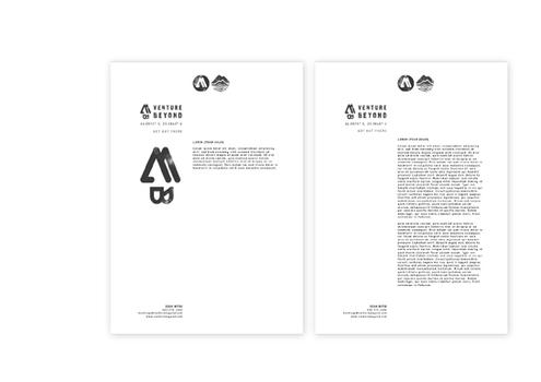 Venture Beyond Corporate Identity design.