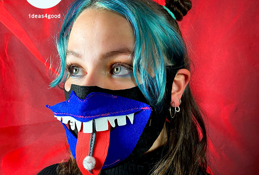 MALmask BLUE LIPS