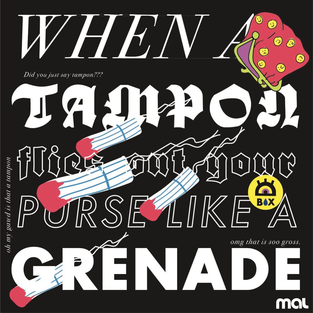 TAMPON GRENADE