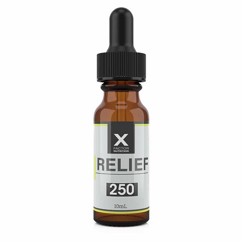 250 MG - Relief CBD Oil - 10 Day Supply