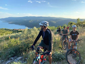 Autumn Ebike tour overlooking Rabac