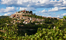 Motovun a beautiful hilltop town