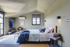Luxury Design Villa2m Istria Top floor Master Bedroom