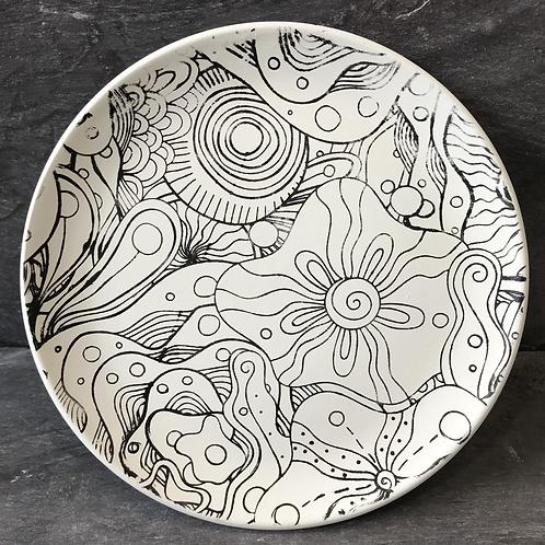 Mindfulness plate