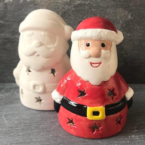 Santa votive