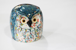 Slip cast Retro owl