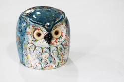 Slip cast Retro owl