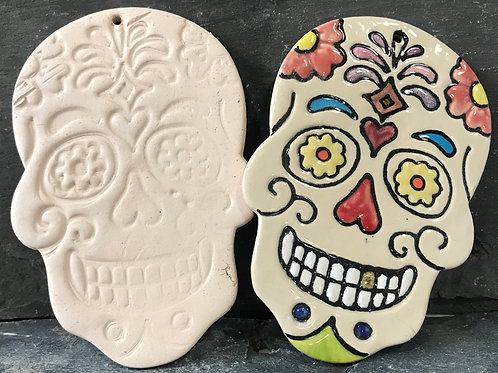 Day of the Dead wall plaque