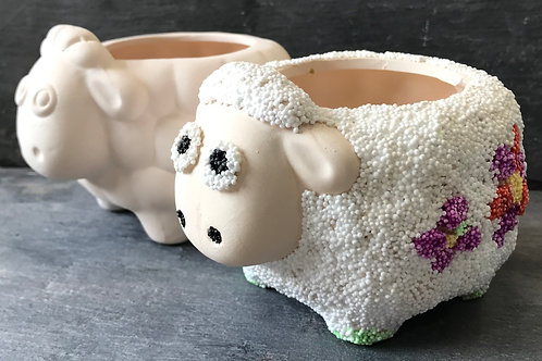 Sheep flower pot