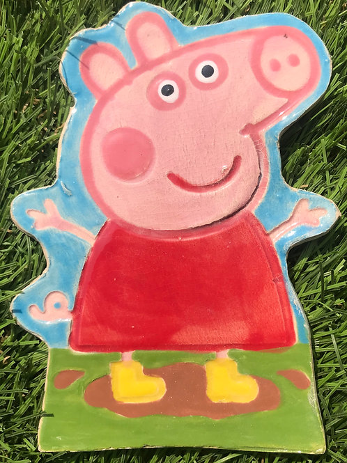 Peppa Pig plaque