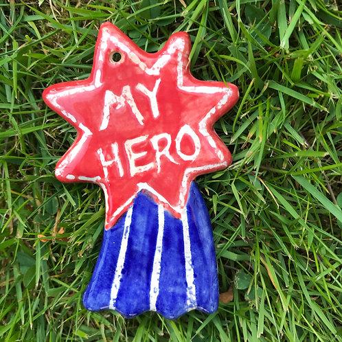 Shooting star plaque