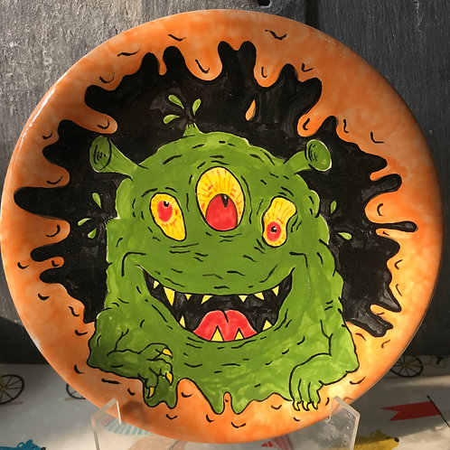 Paint your own Monster mash plate