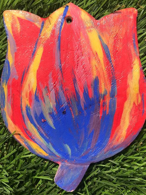 Tulip plaque