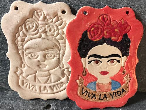 Frida Kahlo plaque