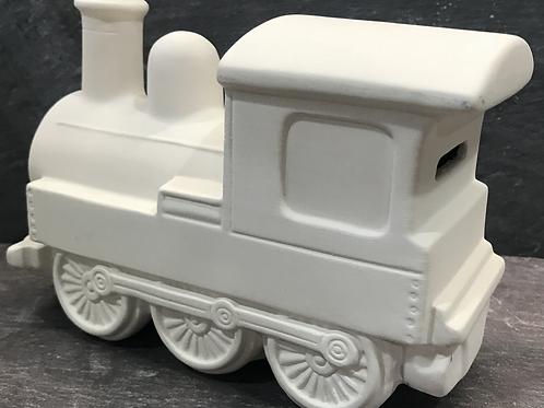 Large steam train